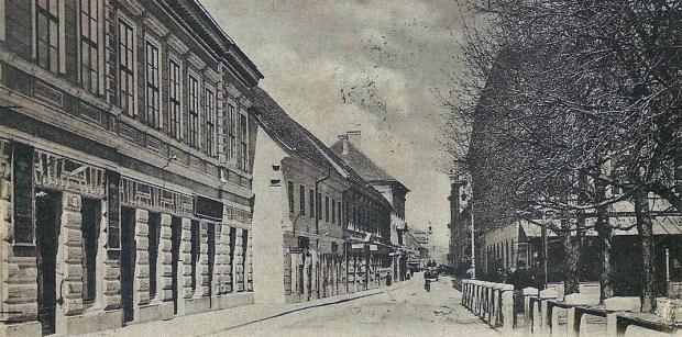 1902 - Slovenska cesta in Kazina za drevjem