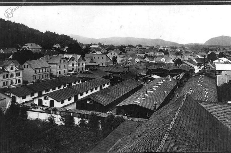 1915 - vojaške delavnice Soške armade, ki so delovale za potrebe bojev v Posočju