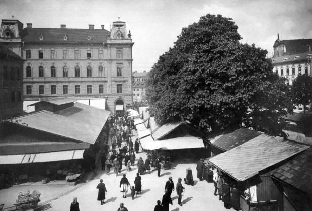 1928 - Pogačarjev trg in tržnica
