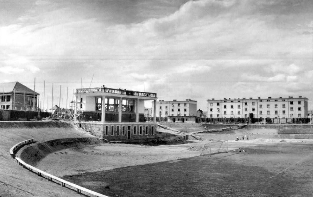 1923 - gradnja Plečnikovega stadiona za Bežigradom