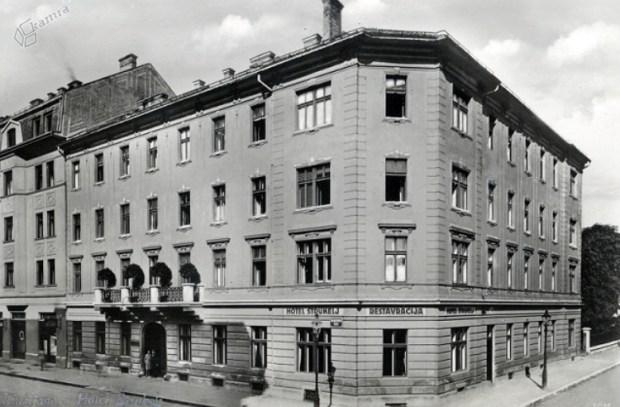 1934 - Hotel Štrukelj na Dalmatinovi ulici