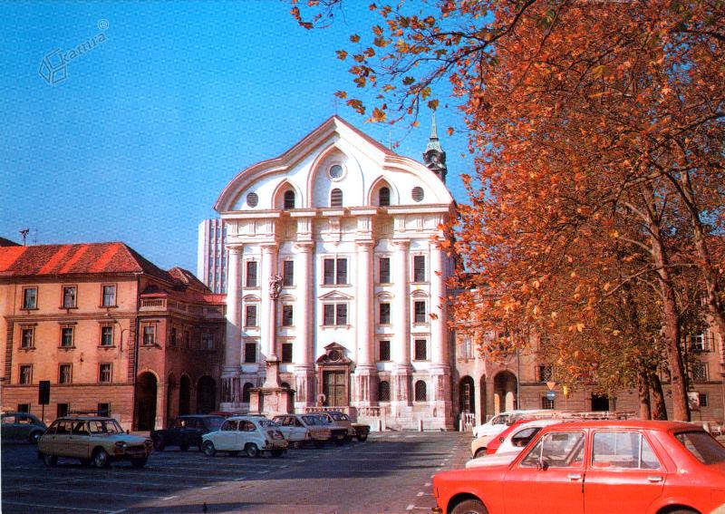 1986 - Kongresni trg in Uršulinska cerkev