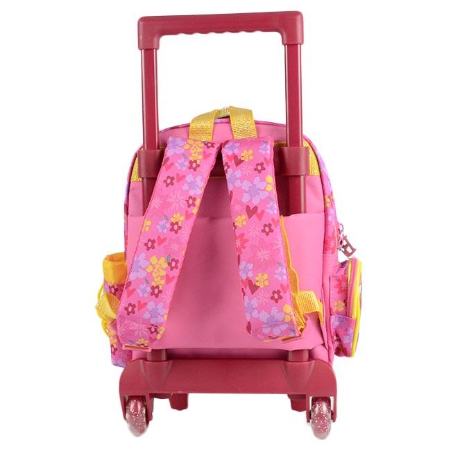 sac a dos a roulettes maternelle disney princess belle chez rentreediscount cartables trousses