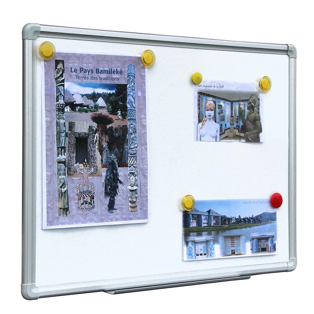 tableau blanc magnetique laque 60x90cm chez rentreediscount fournitures scolaires