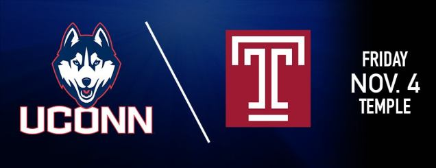 Image result for uconn vs temple november 4