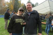 Tricia and Ed White of Wolcott