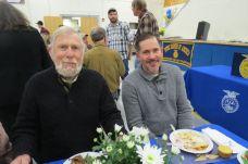 Bill Anderson, left, of Danbury, and John Dufrasne of LaGrangeville, N.Y.