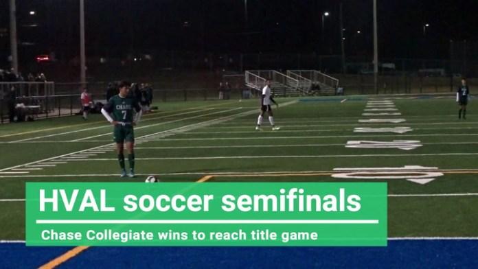 Chase Collegiate boys reach HVAL soccer final