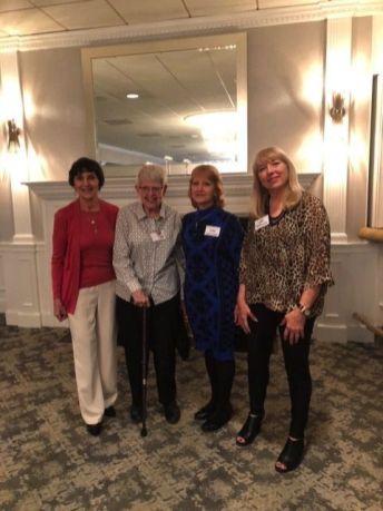John and Cathy Grasso of Middlebury, Kathy and Ed Masiulis of Woodbury