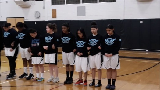 Kaynor Tech girls remember their teammate