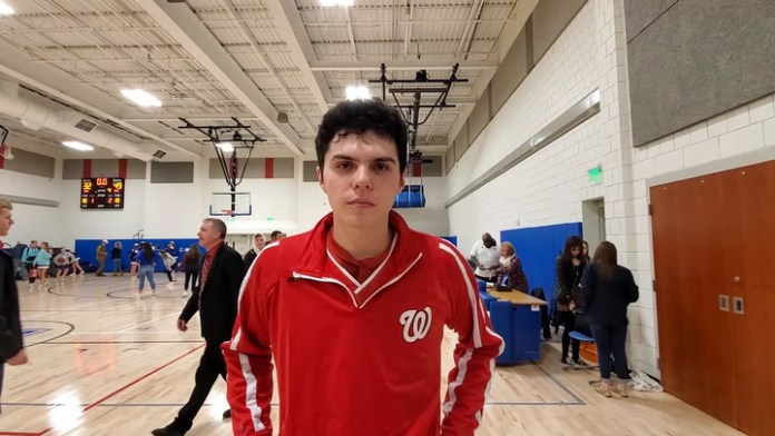 Wamogo's Ethan Collins after win over Nonnewaug