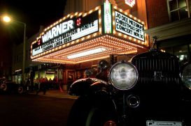 To celebrate its renovation in 2002, the Warner threw a major gala complete with classic antique cars parked out front. (Archives)