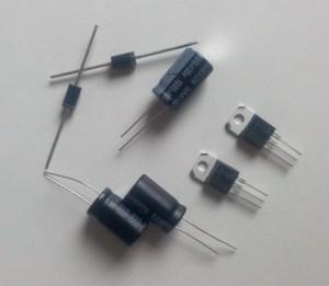 Composants pour dépannage électronique
