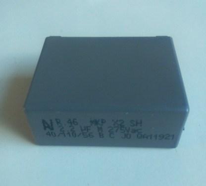 Condensateur 2.2uf 275v