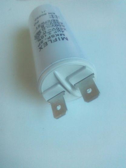 Condensateur permanent détail cosses
