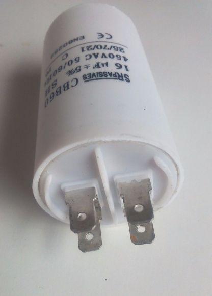 Condensateur détail cosses