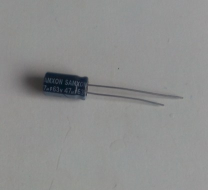 Condensateur chimique 47uf 63v