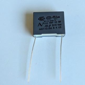 Condensateur 0,22µf 15mm 310v