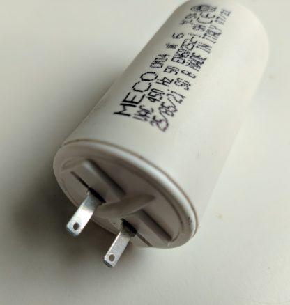 Condensateur volet roulant détail cosses 2.8mm