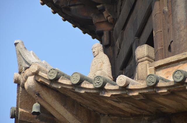 Temple Kaiyuan - Détail d'une pagode - Quanzhou
