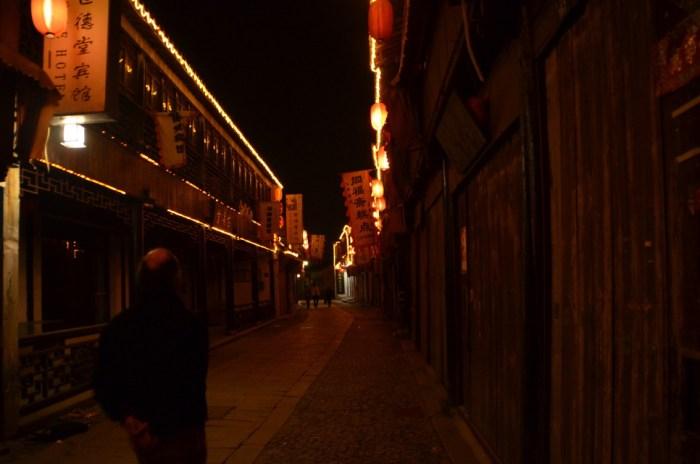 Tongli de nuit