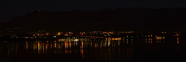 Reflets sur le lac du Bourget