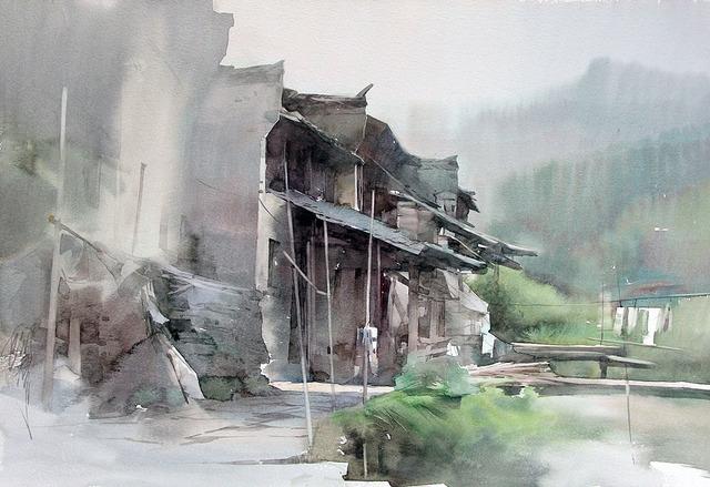 Liu Yi - Sketch