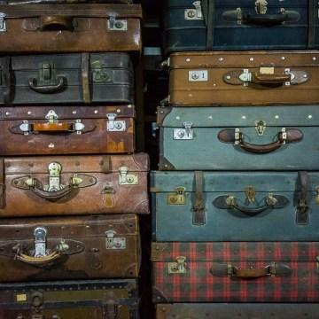 Vieilles valises vintage