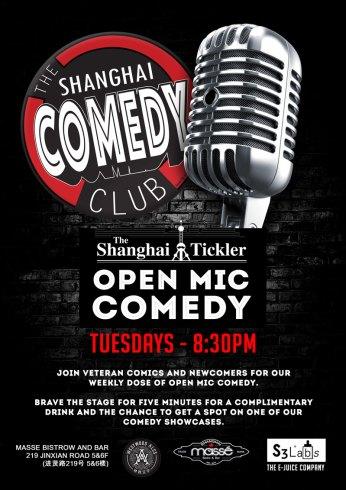 Shanghai Comedy Club Open Mic Tuesday