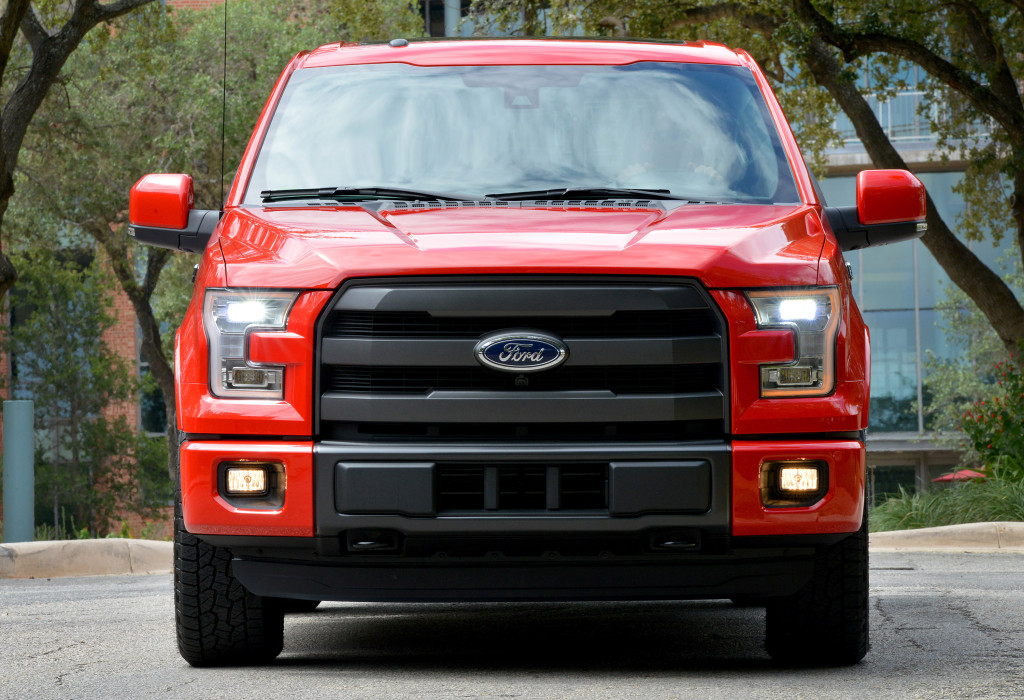The 2015 Ford F-150 is seen in San Antonio, Texas, in September 2014. (Sam VarnHagen/Provided by Ford)