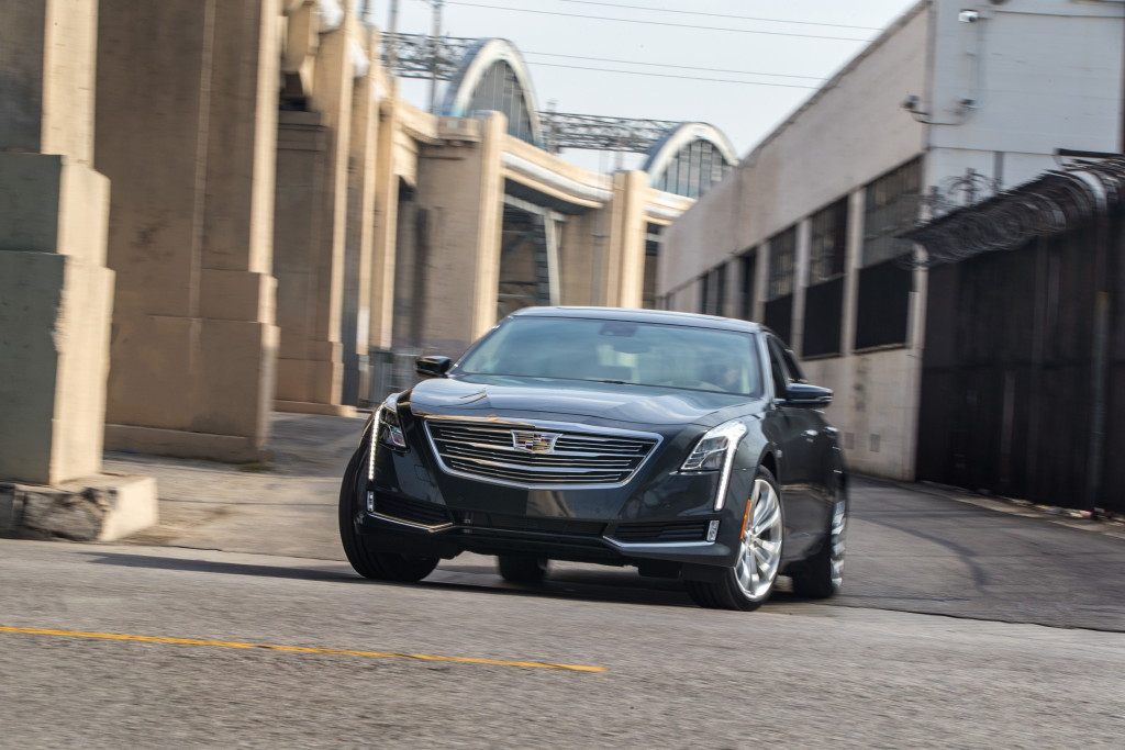 The 2016 Cadillac CT6 is shown. (Provided by Cadillac/Copyright General Motors)