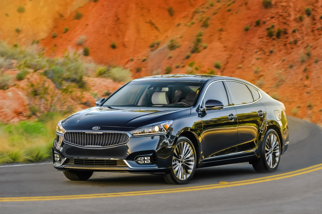 The 2017 Kia Cadenzas includes more than 50 percent advanced-high-strength steel, more than double the previous-generation Cadenza. (Provided by Kia)