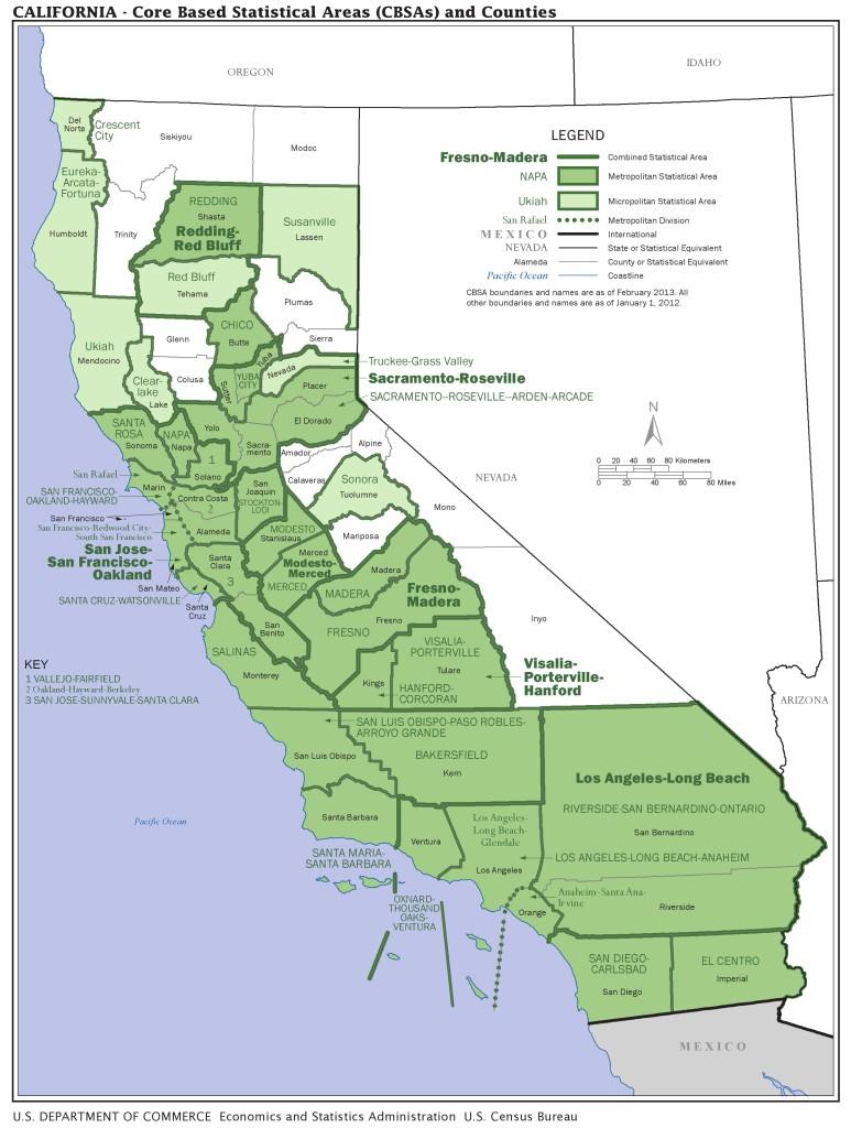 california areas
