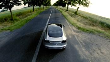 Tesla shows off front-end crash protection structures on