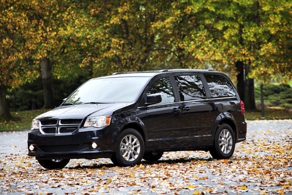 A 2012 Dodge Grand Caravan, trim unknown, is shown here. (Provided by FCA)