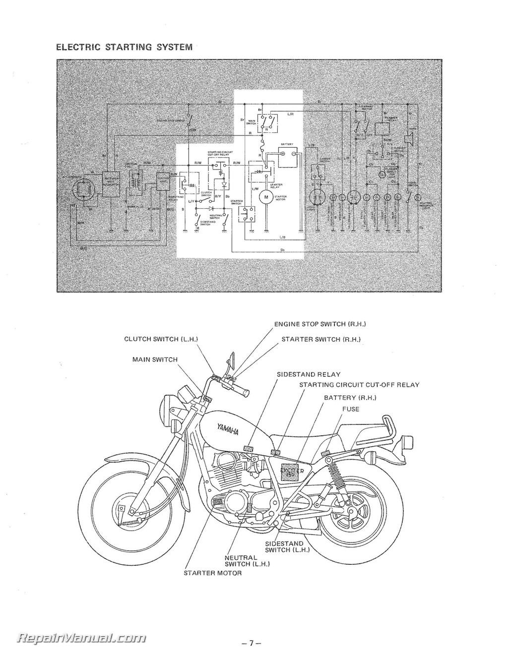 Yamaha sr250 wiring diagram 1980 yamaha sr250 wiring diagram diagram for wiring a yamaha sr250 free download wiring diagrams yamaha banshee wiring diagram at sciox Gallery
