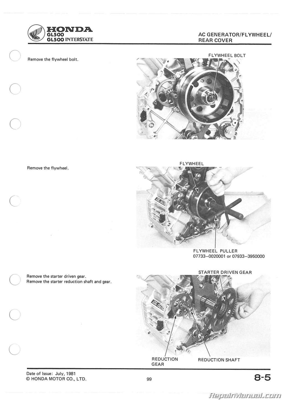 Honda Silverwing Service Manual