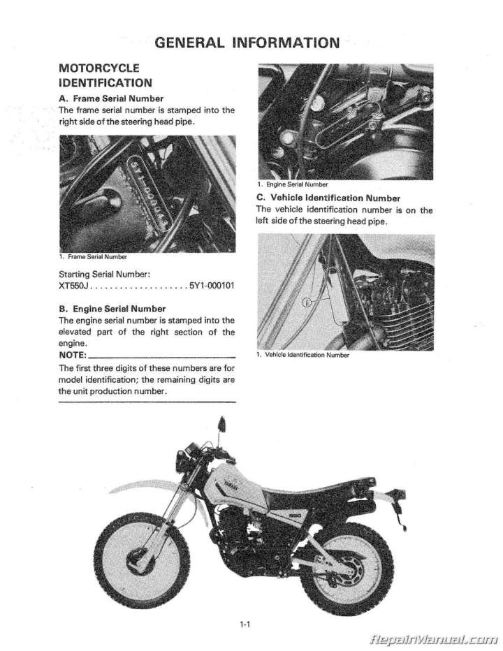 Yamaha Motorcycle Serial Numbers Search | Newmotorjdi co