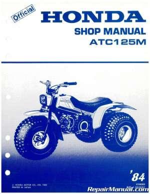 Used 1984 Honda ATC125M Service Manual