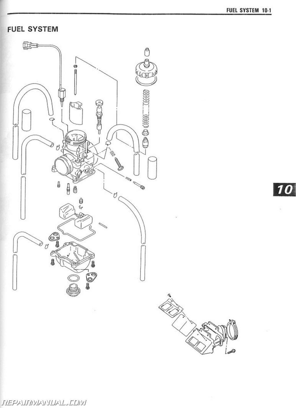 Suzuki Rm250w Service Manual