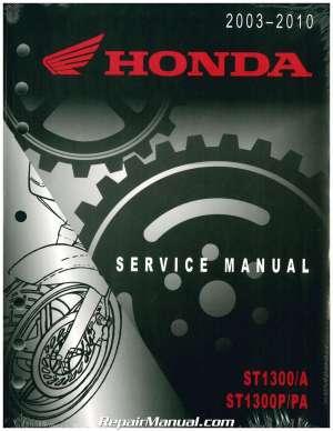 20032017 Honda ST1300 A P PA Motorcycle Service Manual