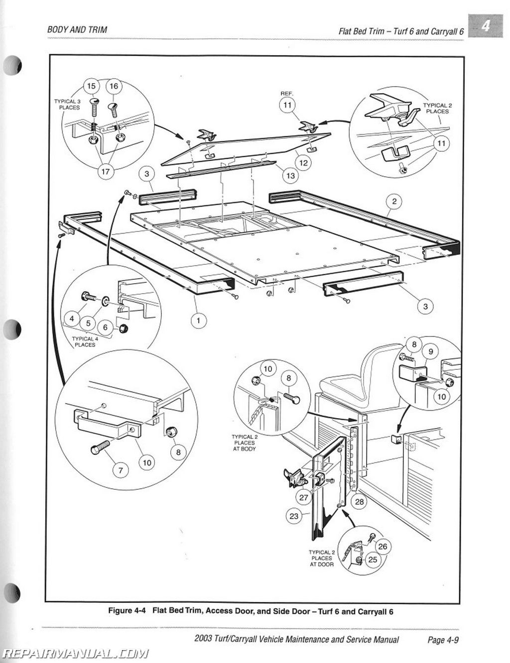 Club Car Carryall 2 Lights Diagram Trusted Schematics 2000 Carry All Wiring Headlights Turf Parts Battery