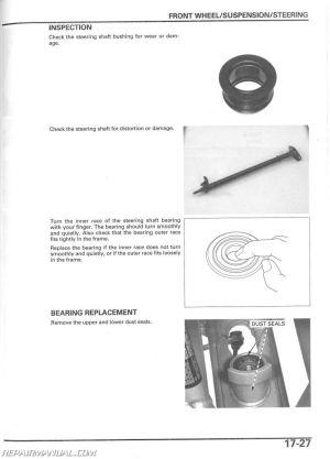 20042014 Honda TRX450R ER Sportrax ATV Service Manual