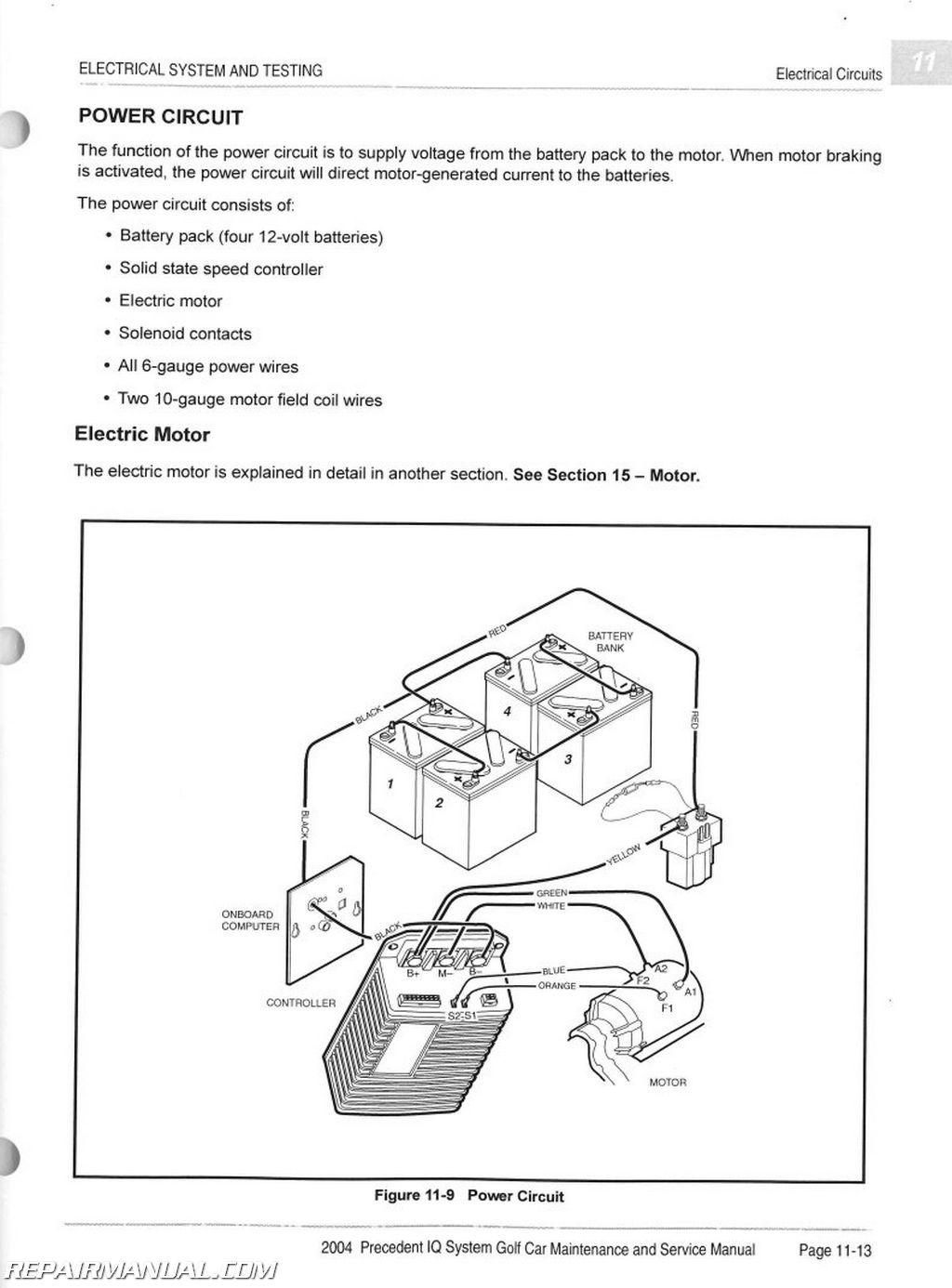 95 Club Car Wiring Diagram