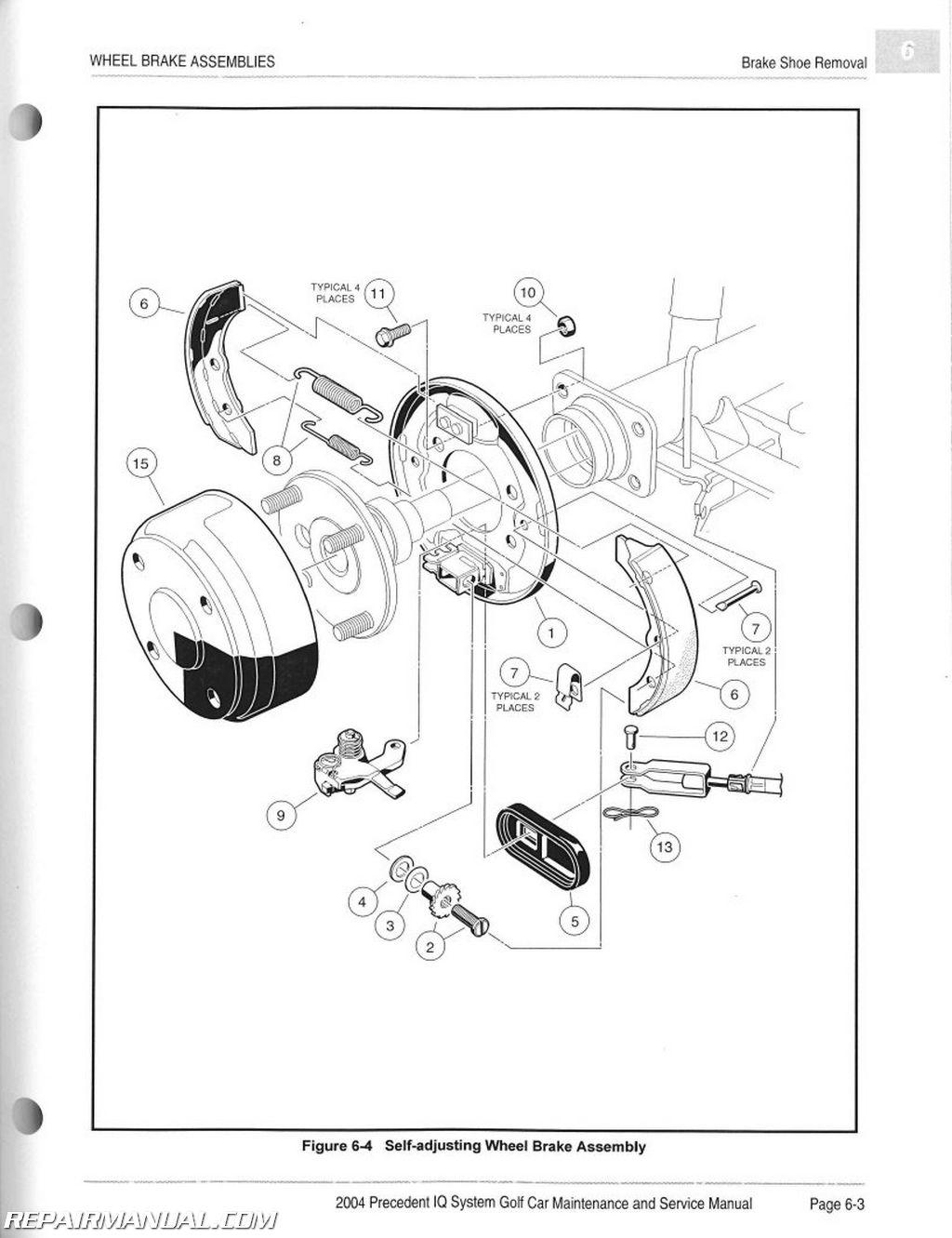 2006 Club Car Precedent Electric Golf Cart Wiring Diagram - Wiring ...