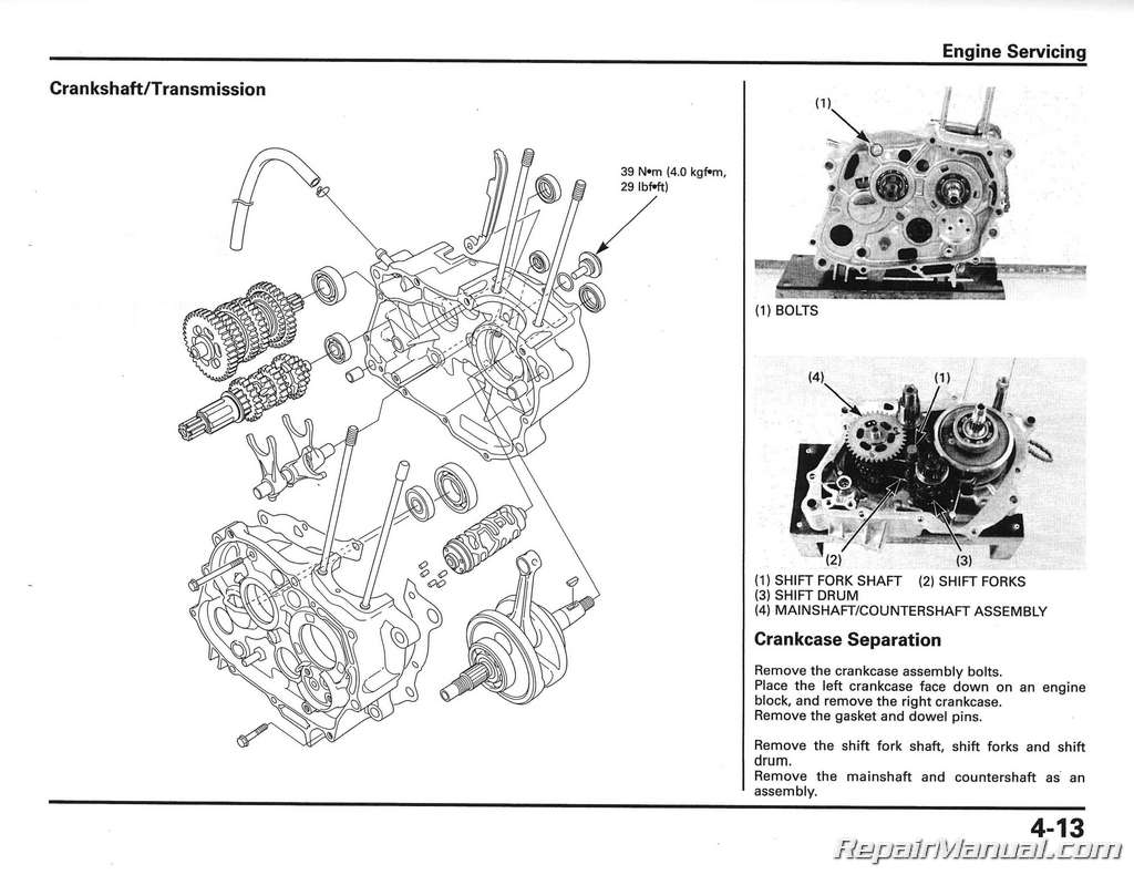 Honda Cb50r Dream 50r Motorcycle Owners Manual