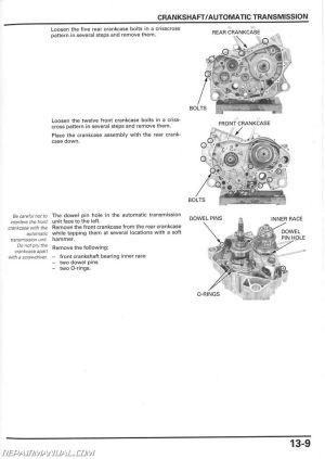 Honda TRX500FA FGA Fourtrax Foreman Rubicon GPScape ATV