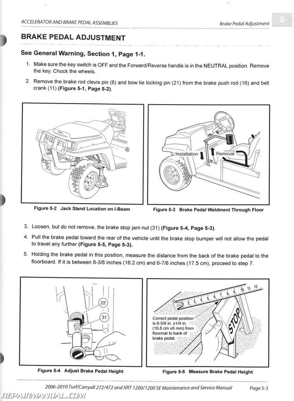 1999 Club Car Wiring Diagram Wiring 2013 Gasoline Carryall 6 Club