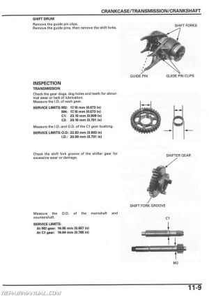 20062018 Honda TRX90EX TRX90X ATV Service Manual
