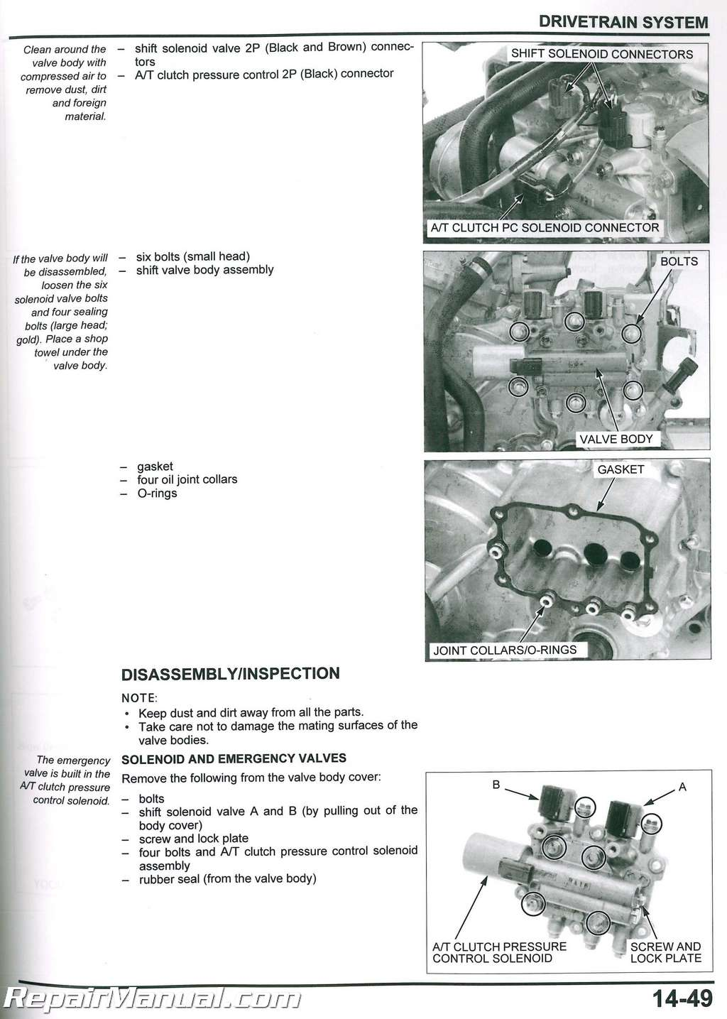 Honda Rincon Trx680fa Fga Atv Service Manual